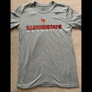 A cute gray Illinois State short sleeve shirt